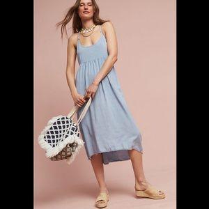 Anthropologie Gwendolyn Midi Dress